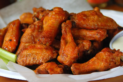 Appetizer: Smoked Chicken Wings
