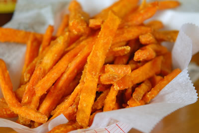 Basket: Sweet Potato Fries